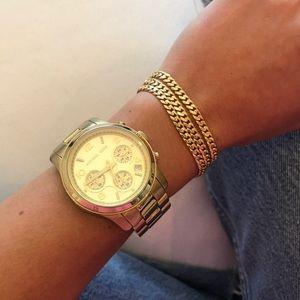 Michael Kors Runway Chronograph Watch (MK5055)